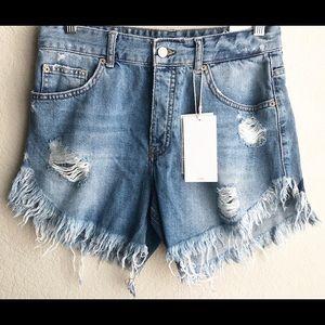 NWT | Zara Denim Shorts